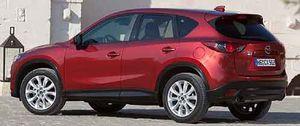 Foto: Mazda CX5, otro rival del Qashqai