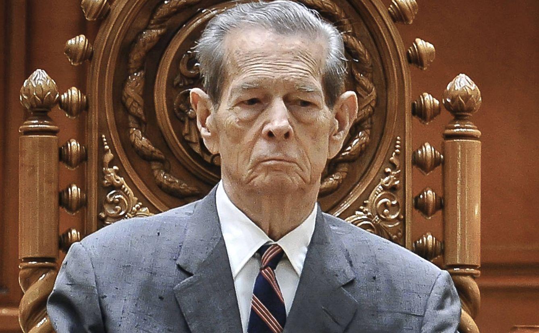 Foto: Miguel de Rumanía en una imagen de archivo. (Gtres)