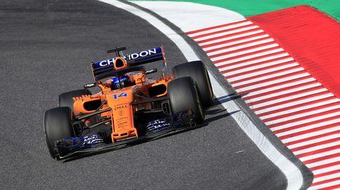 Alonso, ya recogiendo los bártulos, se conforma cada vez con menos en McLaren