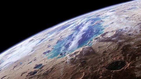 Hay mucha más agua de la que se pensaba bajo el hielo de Marte