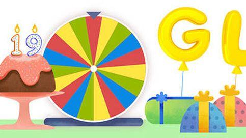 Google cumple 19 años: estos son los 19 juegos que oculta en su ruleta de la fortuna
