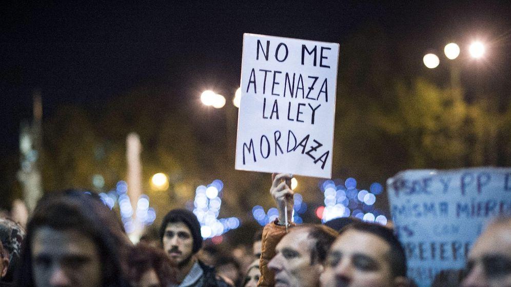 Foto: Participantes en la manifestación 'Rodea el Congreso' celebrada el 14 de diciembre de 2012.