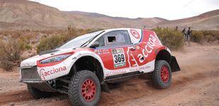 Post de El ACCIONA 100% EcoPowered, primer coche eléctrico que termina el Dakar