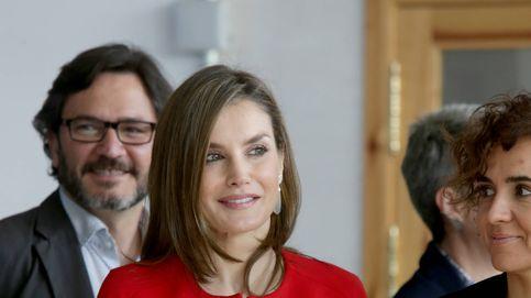 La Reina Letizia en un acto de la Fundación Princesa de Girona en Soria