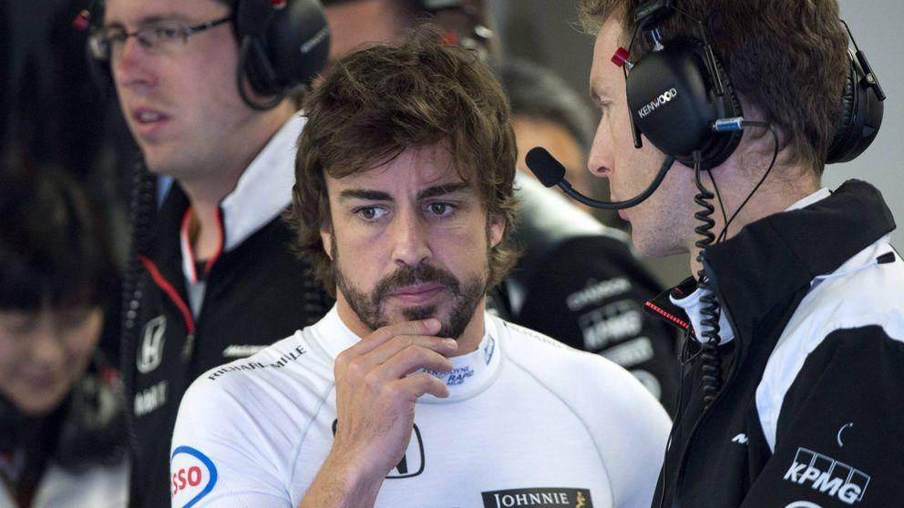 Javier Bardem y Penélope Cruz sorprenden a Fernando Alonso en Canadá
