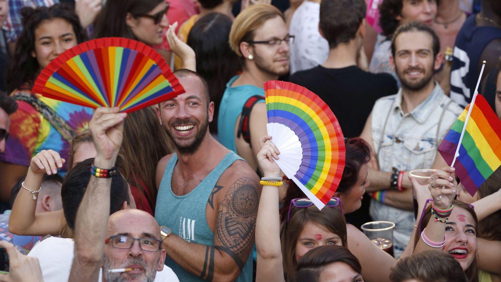 Foto: Fiestas del Orgullo Gay en Madrid (EFE)