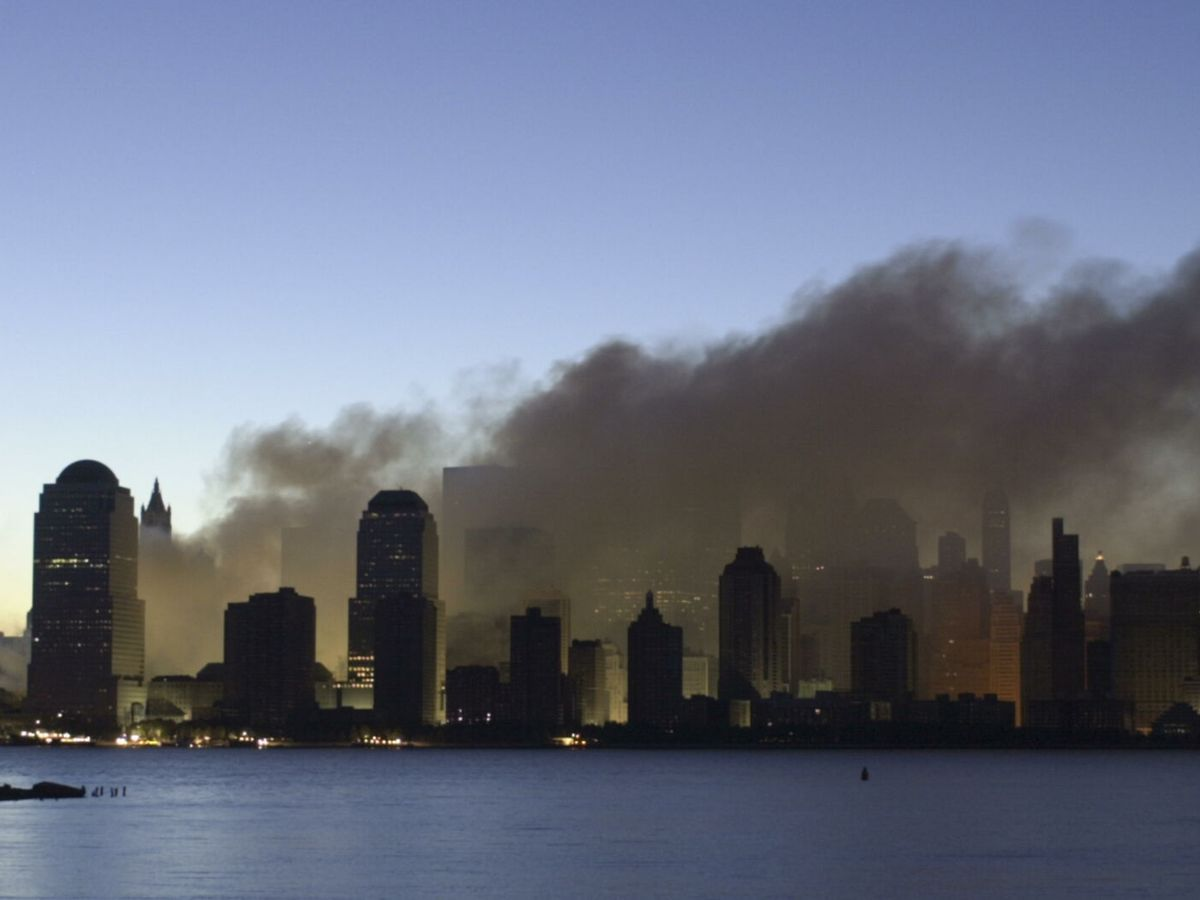 Foto: Vista de Manhattan el 11 de septiembre de 2001. (Reuters)