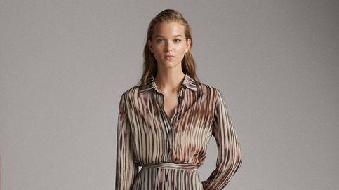 Esta camisa y esta falda tie-dye de Massimo Dutti se convertirán en tu look preferido de invierno