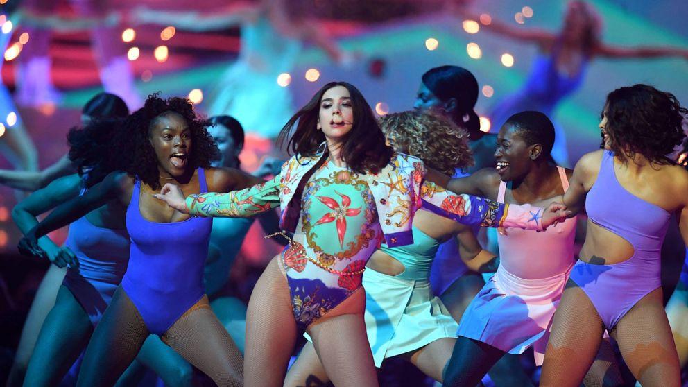 Dua Lipa destrona a Ed Sheeran en los Brit Awards 2018 más reivindicativos y feministas