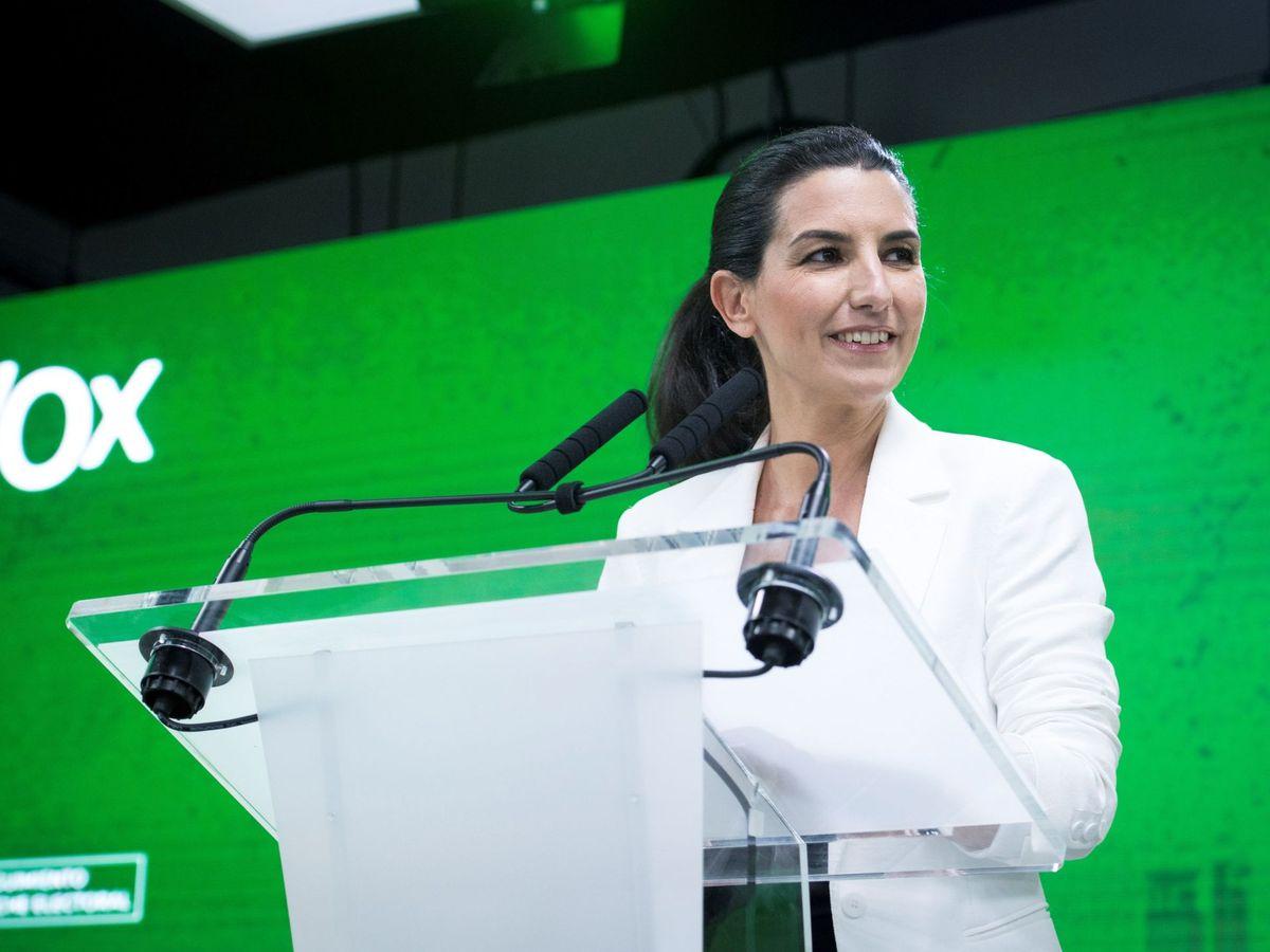 Foto: La líder de Vox en Madrid, Rocio Monasterio. (EFE)