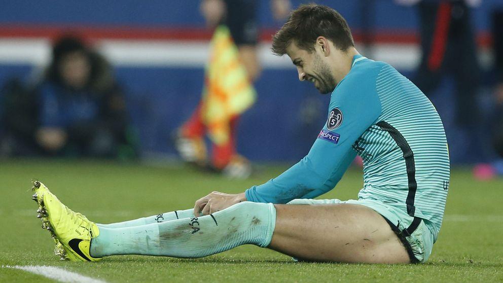 El Barça deja solo a Piqué en su cruzada arbitral, pero tampoco le importa