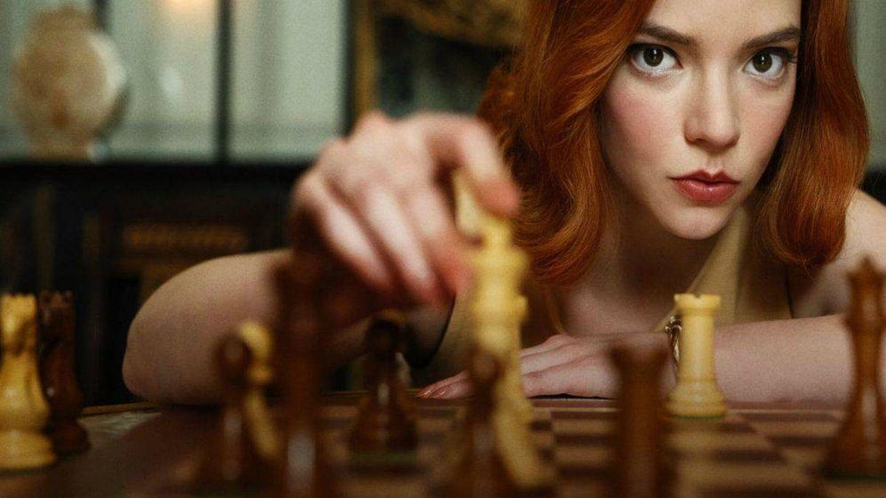 Foto: 'Gambito de dama'. (Netflix)
