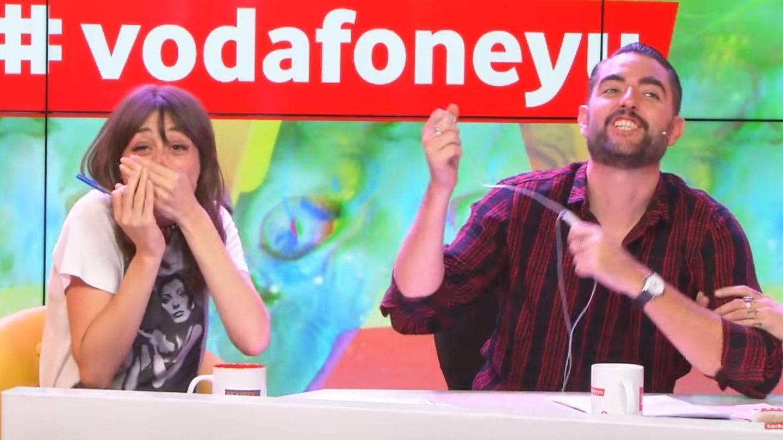 Ferviú y Mateo en la radio.