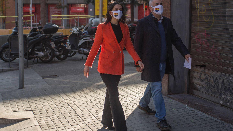 Inés Arrimadas y Carlos Carrizosa. (Cordon Press)