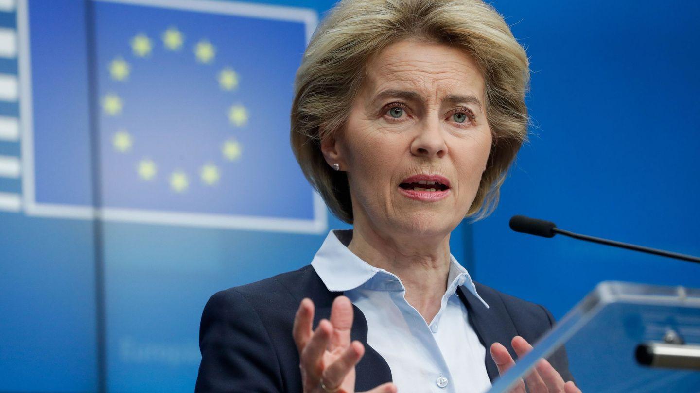 Von der Leyen, presidenta de la Comisión Europea. (Reuters)