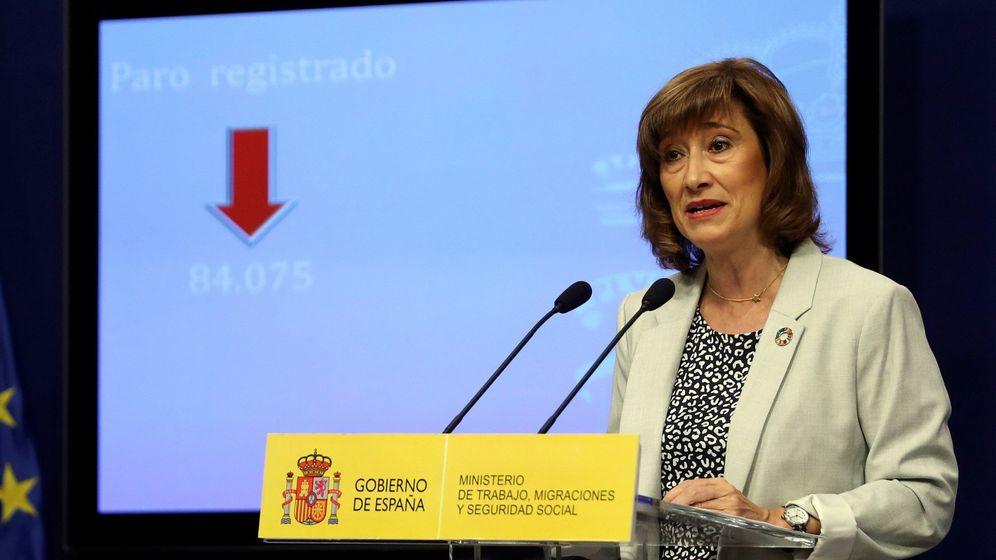Foto: La Secretaria de Estado de Empleo Yolanda Valdeolivas. (EFE)
