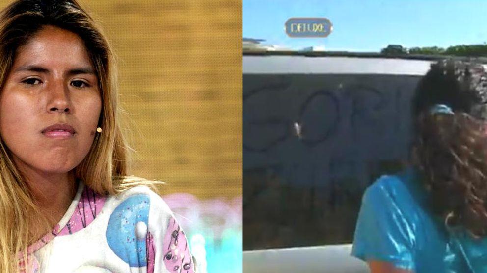 La pintada racista en el coche de Chabelita que conmocionó a Telecinco