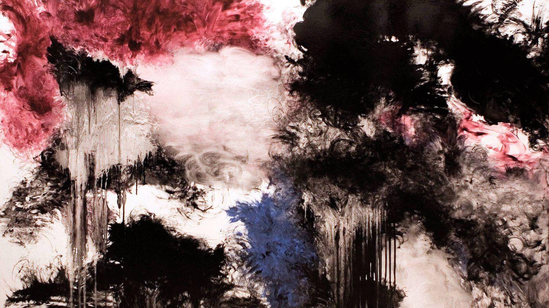 'Granate y humo', Carlos León, 2010. Colección particular.