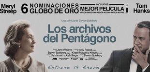 Post de Sorteamos 5 entradas dobles para el preestreno de 'Los Archivos del Pentagono'