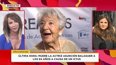 Patiño, sobre Asunción Balaguer: Me enseñó lo que implica la palabra amor