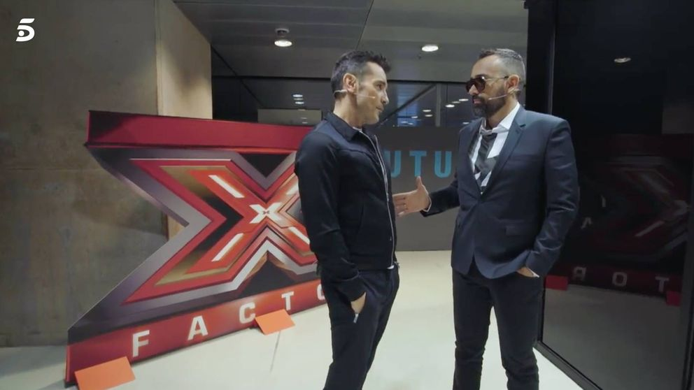 'Factor X': la reconciliación televisada entre Risto y Jesús Vázquez