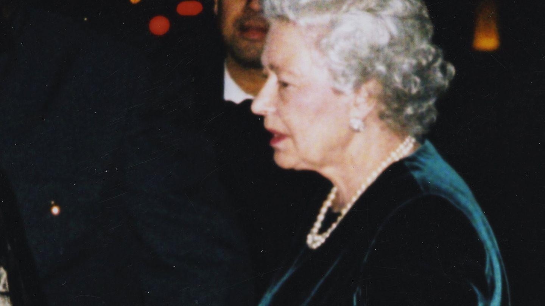 La Reina Isabel II en Annabel's