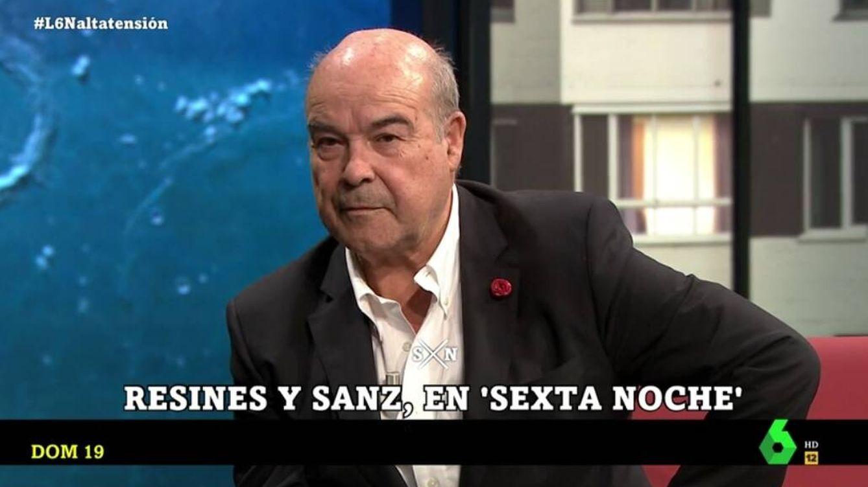 Antonio Resines, sin piedad en 'La Sexta noche' con Toni Cantó: Es demencial