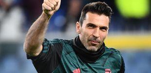 Post de Gigi Buffon, un fumador habitual que ha renovado con la Juventus hasta los 43 años