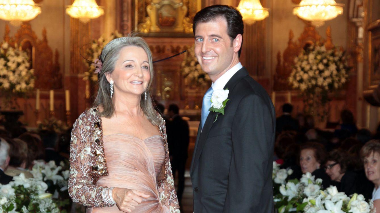 Foto: Delfina Sanz y su hijo, Manuel Colonques, en una imagen de archivo (Gtres)