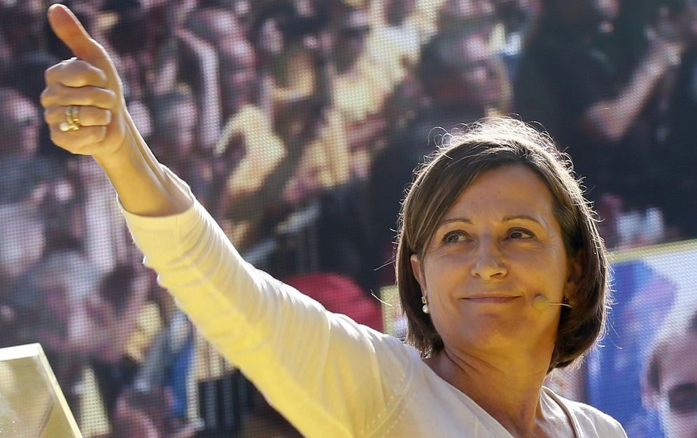 Foto: La presidenta del Parlament catalán, Carme Forcadell. (Reuters)