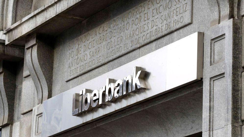Foto: Logo de Liberbank. (EFE)