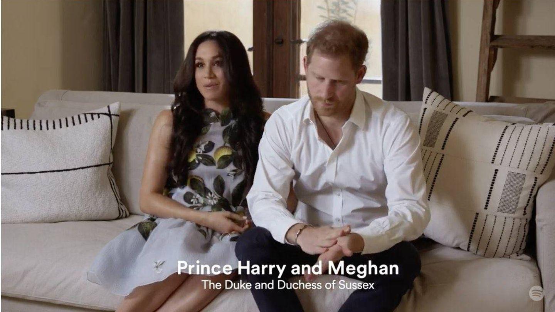 Meghan y Harry, en el vídeo. (Spotify)