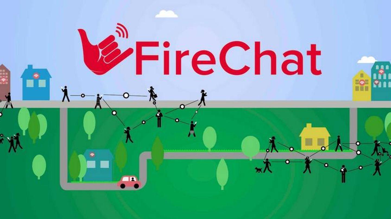 FireChat, una de las aplicaciones recomendadas por Assange.
