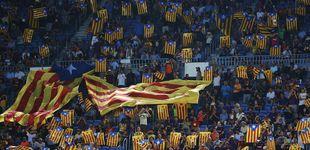 Post de La ANC denuncia la tibieza del Barcelona con su polémica pancarta