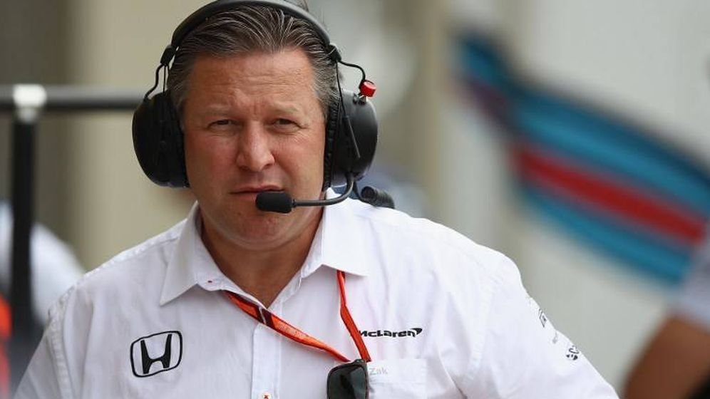 Foto: Zak Brown, máximo responsable de McLaren.