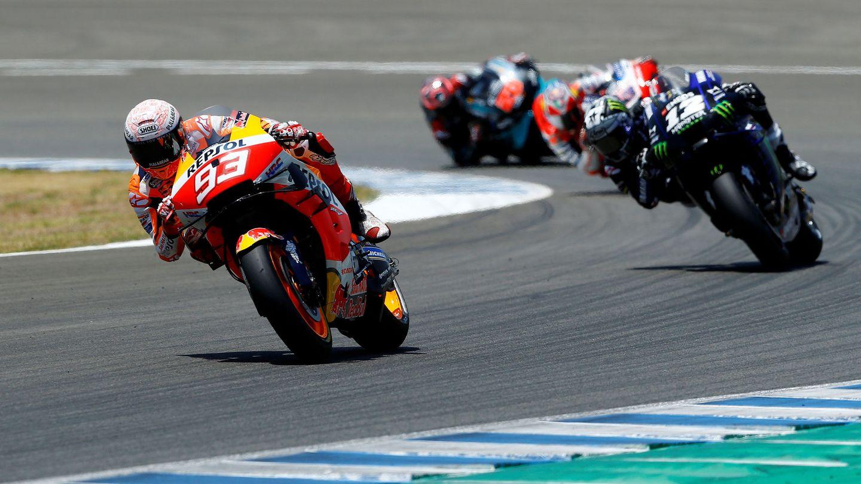 Marc Márquez, en el Gran Premio de Jerez de 2020. (Reuters)