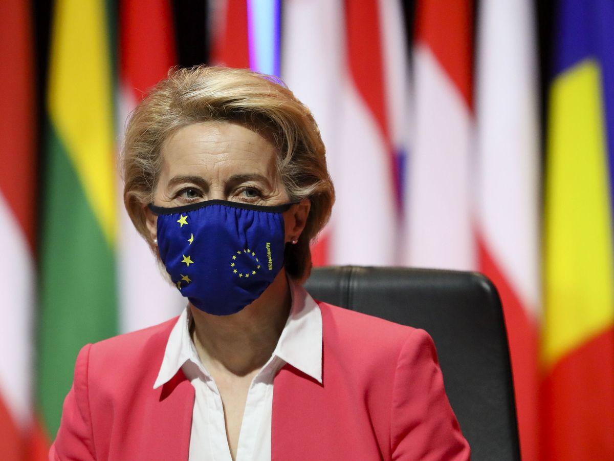 Foto: La presidenta de la Comisión Europea, Úrsula von der Leyen. (EFE)