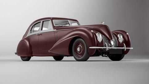 La resurrección del Bentley Corniche, el coche destruido en la II Guerra Mundial