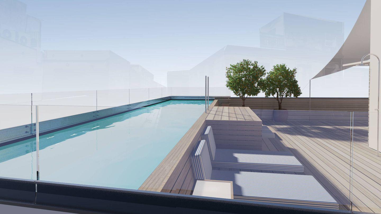 La piscina de Casa Neri, otra forma de ver BCN. (Cortesía)