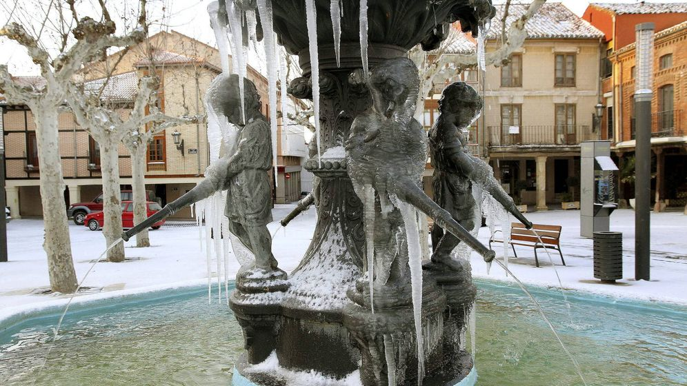 Foto: Se esperan temperaturas bajo cero en caso todo el país, aunque la semana que viene será peor. (Efe)