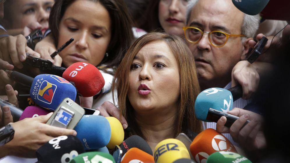 Foto: La presidenta del Comité Federal del PSOE, Verónica Pérez. (EFE)