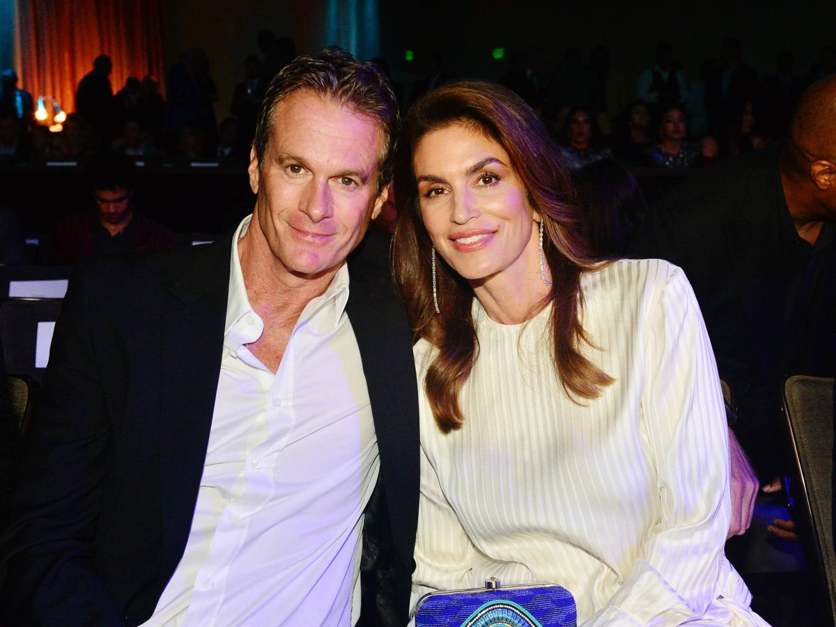 Foto:  Rande Gerber y Cindy Crawford. (Getty)
