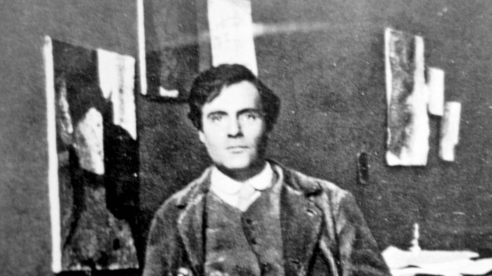 Foto: Amedeo Modigliani en 1915