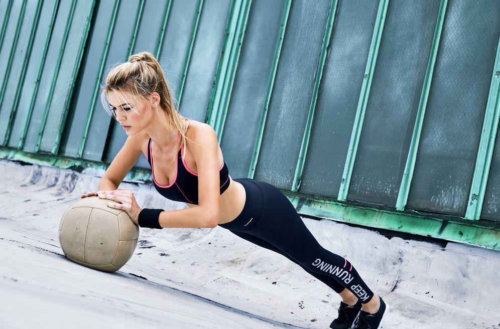 Foto: Para tener el vientre como una tabla tendrás que hacer mucho más que abdominales. (Foto: Calzedonia)