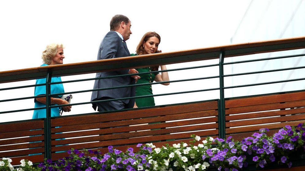 Foto: Kate Middleton a su llegada a Wimbledon 2019. (Getty)
