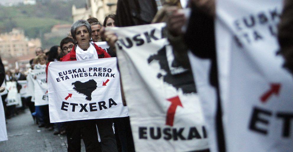 Manifestación de simpatizantes con los presos de Eta (Efe)