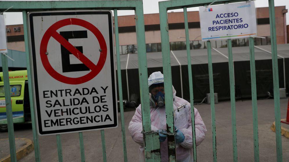 Foto: Hospital en Sanitago (Reuters)