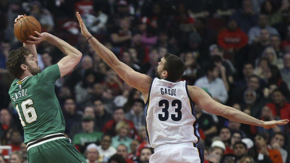 Foto: Marc Gasol rompe otra barrera al entrar en el mejor quinteto de la NBA; Pau, en el segundo