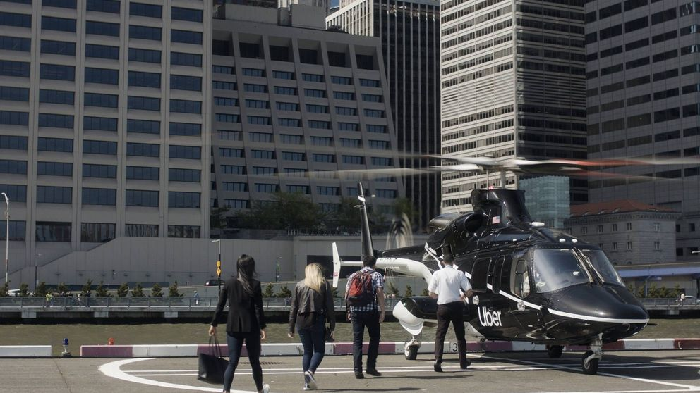 Nuevo golpe de Uber: comenzará a ofrecer viajes al aeropuerto en helicóptero