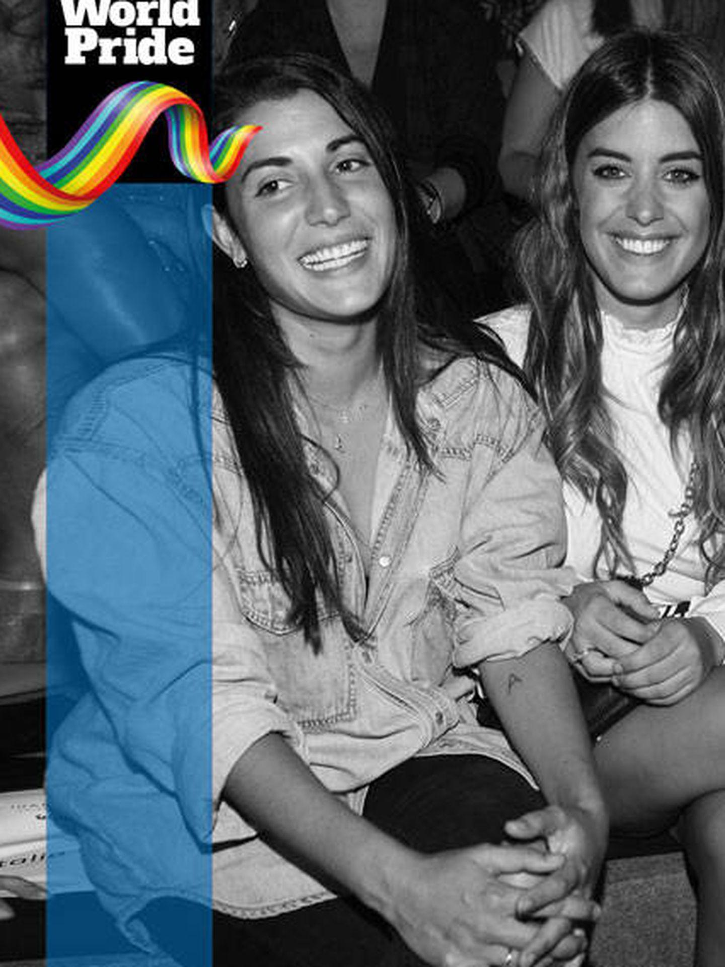 Orgullo LGTBI 2017: Dulceida y Alba Paul.